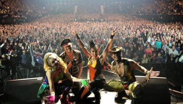 Vengaboys on stage