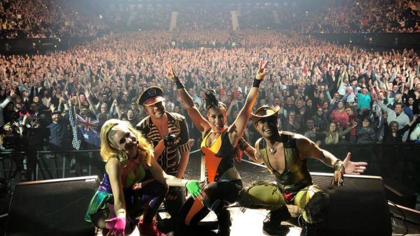 Vengaboys on stage