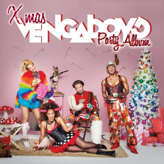 Xmas party album cover