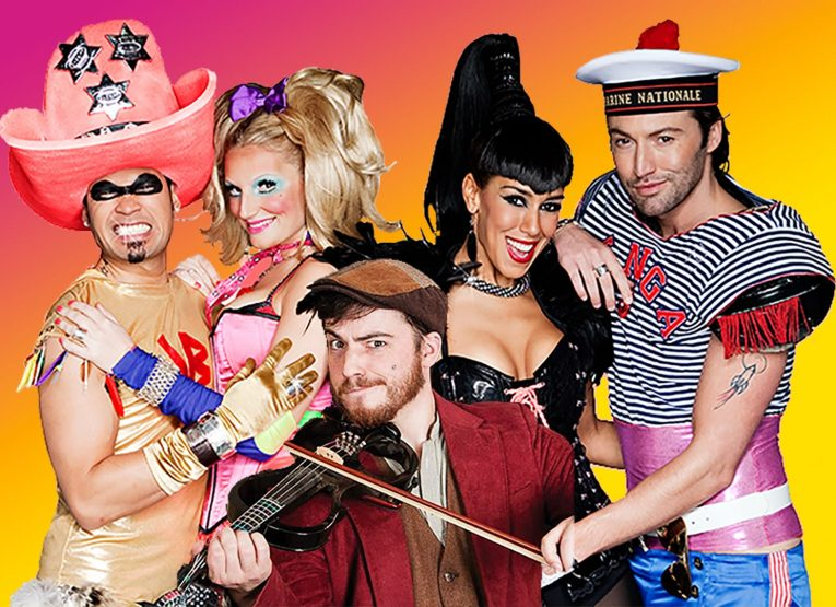 A picture of the Vengaboys with Cullen Vance who made a fantastic cover version of Boom Boom Boom Boom!!