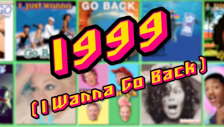 the cover of the new Vengaboys single called 1999 (I Wanna go Back)
